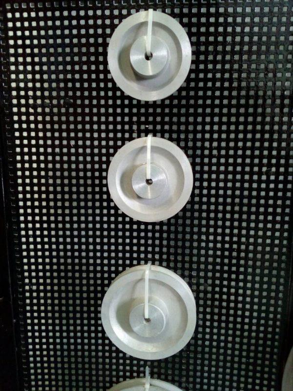 Poleas de aluminio canal A y B 1 y 2 canales todas las medidas