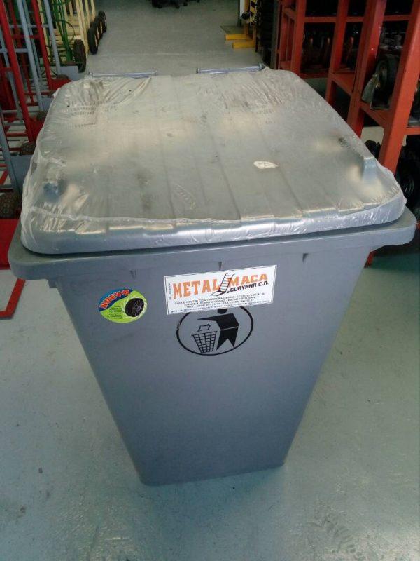Pipotes para basura de 200 lts con ruedas