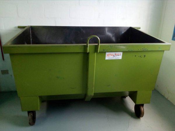 Contenedores para residuos sólidos con ruedas y sin ruedas